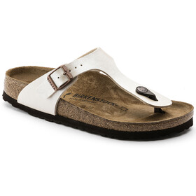 Birkenstock Gizeh Thong Sandals Birko-Flor Narrow Women, graceful pearl white